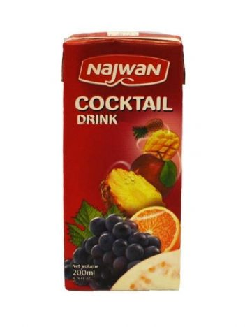 Sap NAJWAN cocktail 200ml x 27 st