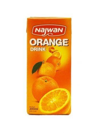 Sap NAJWAN sinaasappel 200ml x 27 st