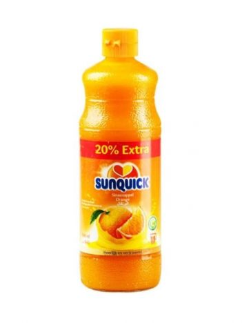 Siroop SUNQUIK Orange 840ml x 6st