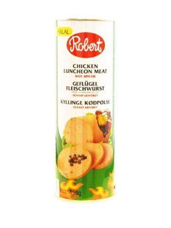 Luncheon ROBERT kip scherp groot 850gr