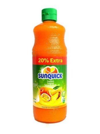 Siroop SUNQUIK Tropical 840ml x 6st