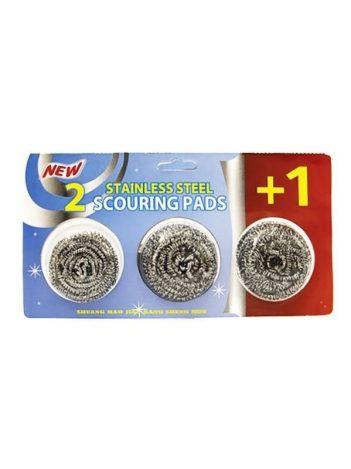 1295c Aluminium schuurspons 3 stuks(48g)