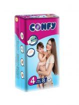Luiers CONFY Maxi maat 4 (20 in doos)