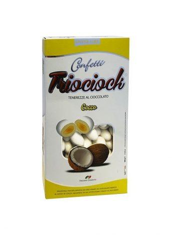 Mulabas TRIOCIOCK Chocolade Kokosnoot 500gr x 6st