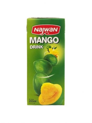 Sap NAJWAN mango 200ml x 27 st