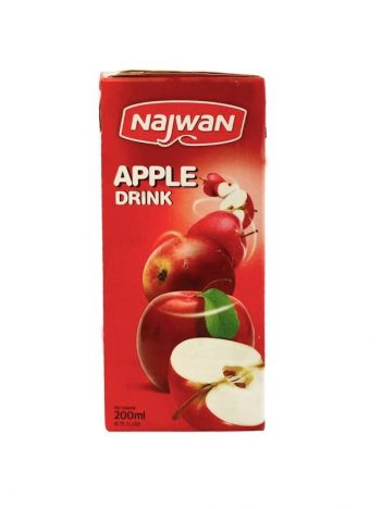 Sap NAJWAN appel 200ml x 27 st