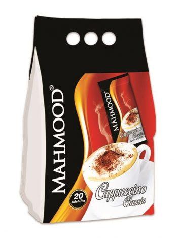 Cappuccino MAHMOOD Classic New Plastic Bag (20x12gr) x 12 st