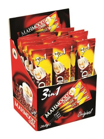 Koffie MAHMOOD Stick 3 in 1 (24x18gr) x 24 st