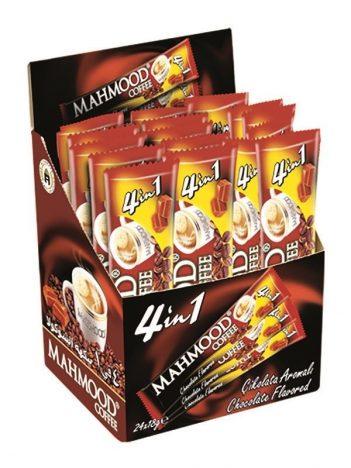Koffie MAHMOOD 4 in 1 Chocolade x 18GR x 24 st