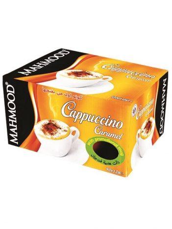 Cappuccino MAHMOOD Caramel sticks 40x12gr met gratis mok x 6 st