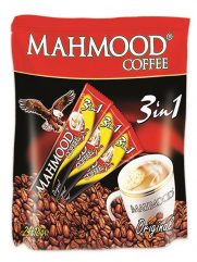 Koffie MAHMOOD 3 in 1 Plastic Bag 24x18gr