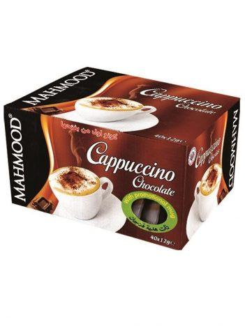 Cappuccino MAHMOOD Chocolade sticks 40x12gr met gratis mok x 6st