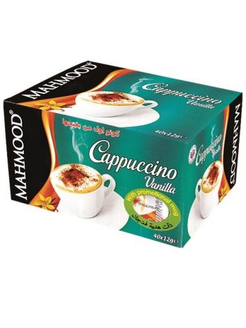 Cappuccino MAHMOOD Vanille 40sticks x 12GR met gratis mok x 6 st