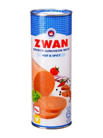 Luncheon ZWAN Kip Scherp Groot 850gr x 12 st