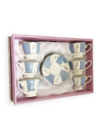 4004 Koffiekopjes blauw wit