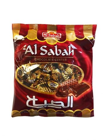 Snoep EL SABAH Chocolate Center 275 gr x 30st
