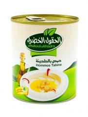 Hummus tahina AL HOKOOL AL KHADRAA 800gr x 12st