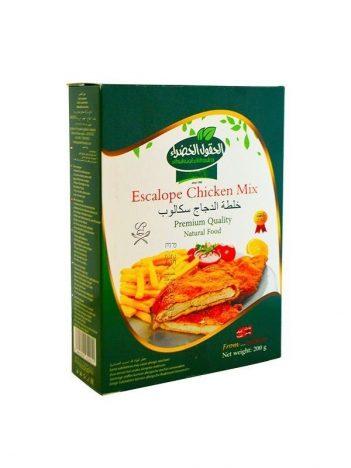 Escalope chicken mix AL HOKOOL AL KHADRAA 200gr x 12st