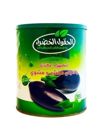 Aubergine AL HOKOOL AL KHADRAA Grilled 2,8kg x 4st
