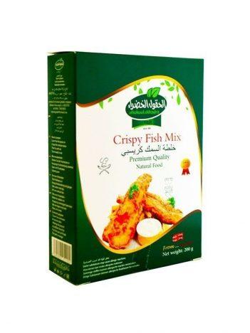 Crispy fish mix AL HOKOOL AL KHADRAA 200gr x 12st