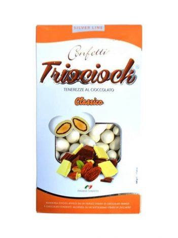 Mulabas TRiOCIOCK Chocolade Classico Bianco 500gr x 6st