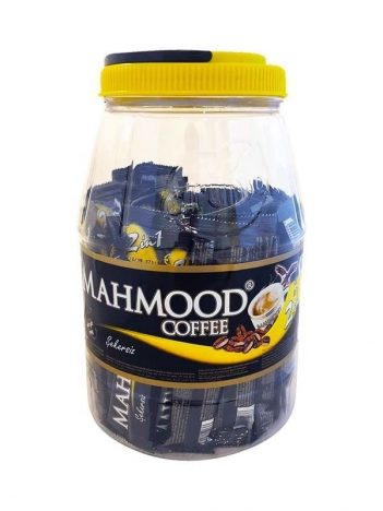 Koffie MAHMOOD 2 in 1 plastic pot (36x10gr) x 12 st