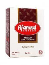 Koffie AL AMEED MEDIUM met Kardemom 200gr x24 st