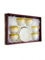 4007 Koffiekopjes goud wit