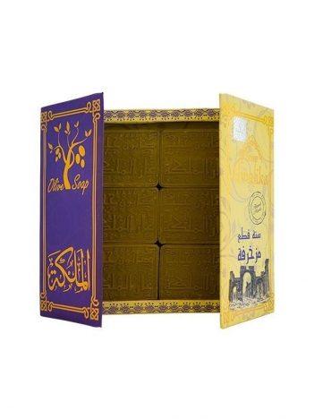 Zeep ALMALIKA ARAYSI Muzagraf Paars ( Pakket 6 st ) x 12 st