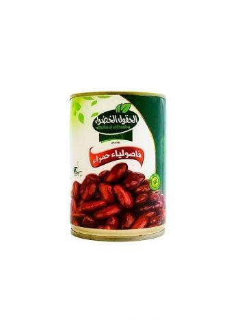 Rode bonen AL HOKOOL AL KHADRAA 400gr x 24st