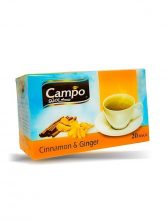 Thee CAMPO Kaneel & Gember (20X2gr)x20st