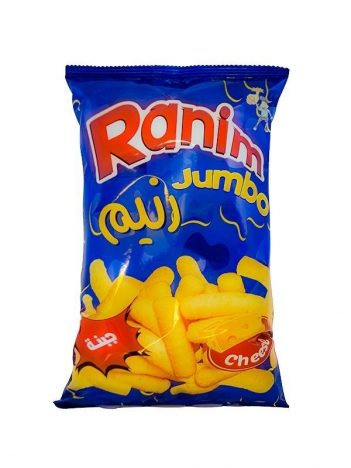 Chips RANIM jumbo Kaas 40g x24 zakje
