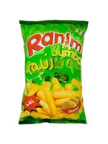 Chips RANIM jumbo zaater 40g x 24 zakje