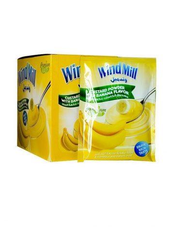 Custard pudding WINDMILL Banaan (12x50g) x 6st