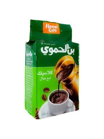 Koffie AL HAMWI Klassiek met Kardemom Groen Groot 500gr x 6 st