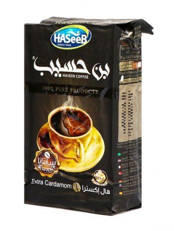 Koffie HASEEB Extra Kardemom Zwart Groot 500Gr x 10st
