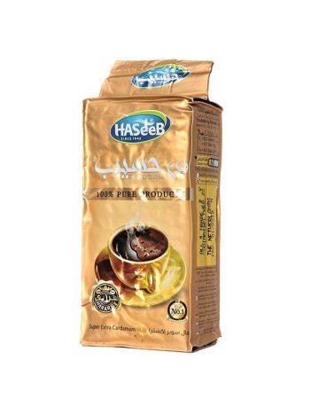 Koffie HASEEB Super Extra Goud Klein 200gr x 25st