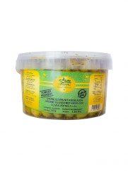 Groene Olijven MADANLI met knoflook 2,43 KG Kleine Emmer