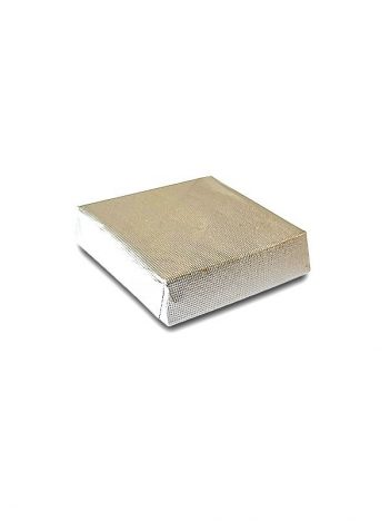 901 Chocolade vierkant wafel Zilver 5KG
