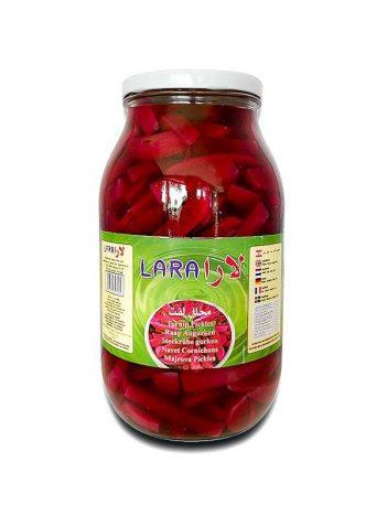 Augurken LARA Turnips Gesneden Groot 2,8kg x4 st
