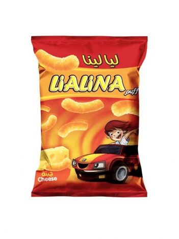 Chips LIALINA Cheese puff 65gr x 20st