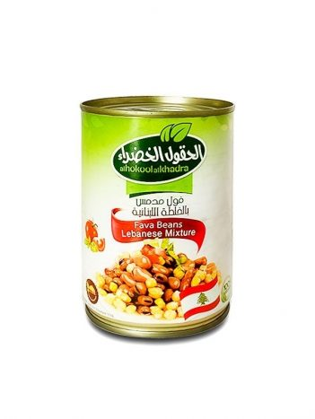 Foul AL HOKOOL AL KHADRAA Libanees 400gr x 24 st