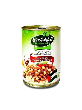 Foul AL HOKOOL AL KHADRAA Palestijns 400gr x 24 st