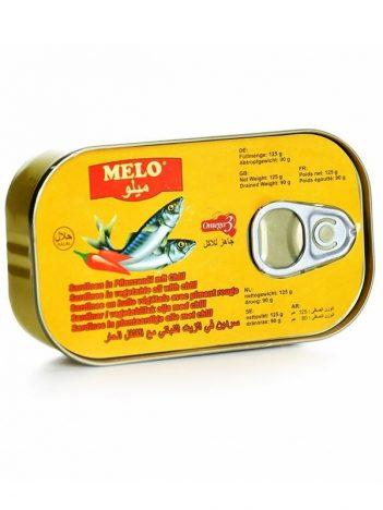 Sardines MELO Chili 125gr x 50st