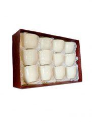 HD-47 Koffiekopjes set 12st wit