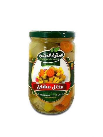 Augurken AL HOKOOL AL KHADRAA Gemixt 630gr x 12st