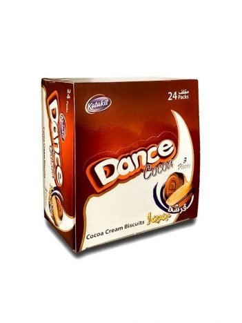 Koekjes DANCE cacao ( 24 stuk ) x12 st