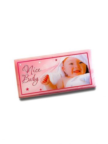 Chocolade Tablet Baby Roze 5KG