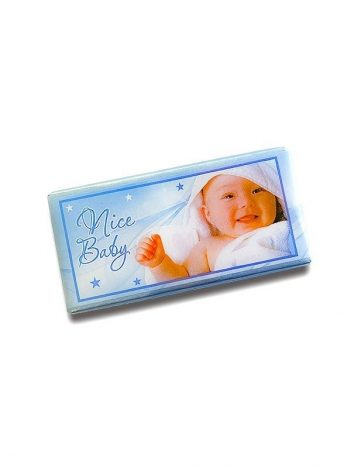 Chocolade Tablet Baby Blauw 5KG