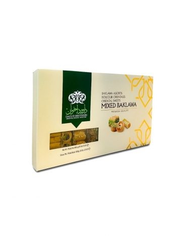 Mixed baklawa DAOUD BROTHERS 1kg x 12st